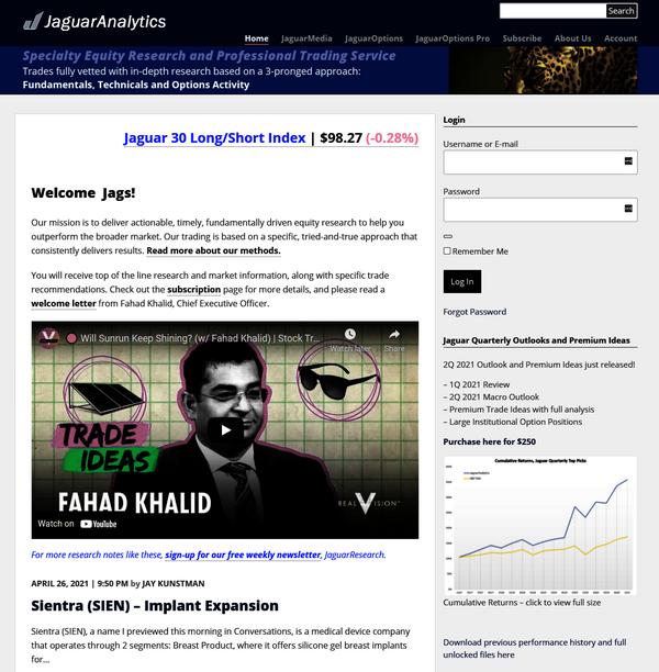 Jaguar Analytics